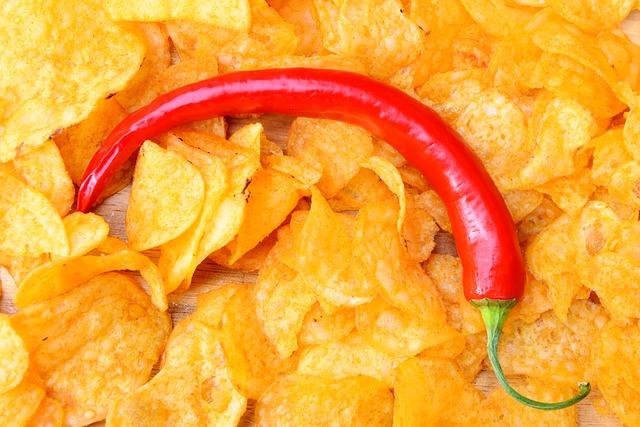 feferonka na chipsech