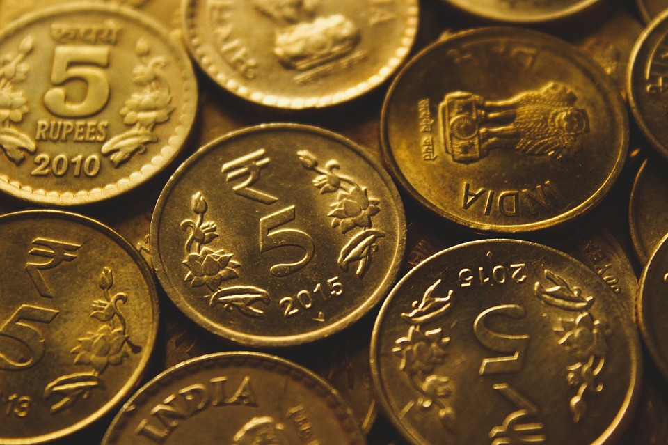 indické mince
