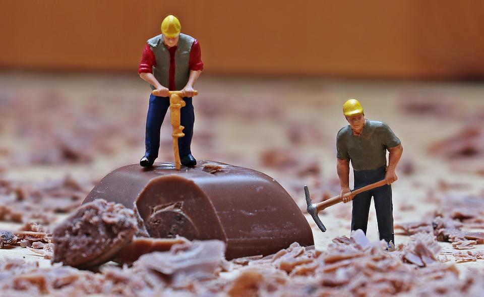pracující dělníci
